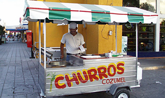 churros cozumel
