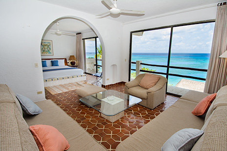 Waterfront Condos for rent in Cozumel