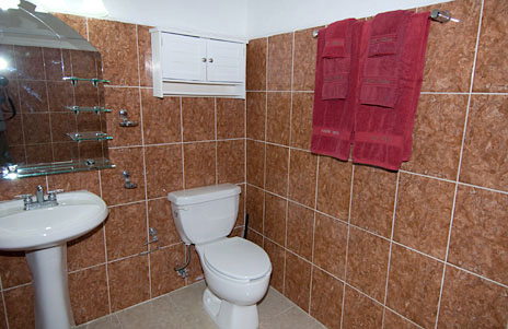 Bathroom at Casa Don Rosa Cozumel vacation rental home