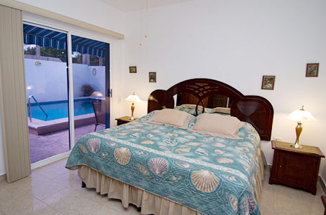 Bedroom at Casa Don Rosa Cozumel vacation rental home
