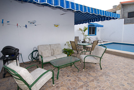 Pool at Casa Don Rosa Cozumel vacation rental home