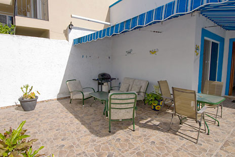 Patio at Casa Don Rosa Cozumel vacation rental home