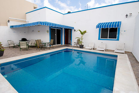 Pool Casa Don Rosa Cozumel vacation rental home