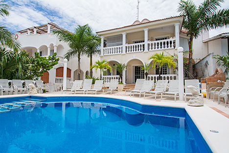 Villa Dos Cozumel Mexico vacation rental villa