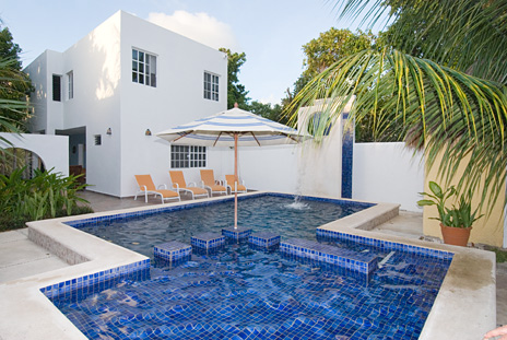 Villa Escondida Cozumel vacation rental B & B