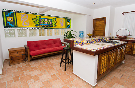 Villa las Glorias living room