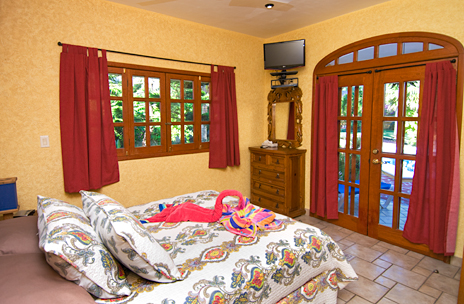 Bedroom #1 of Hacienda Izamal vacation rental home