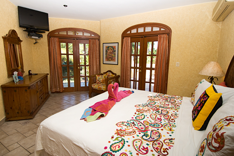 Bedroom #3 of Hacienda Izamal vacation rental home