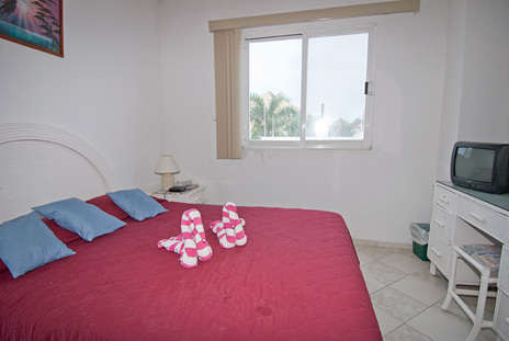 Bedroom #3 at  Casa Jen, a Cozumel vacation rental villa
