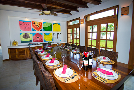 Dining Mondo Palancar Cozumel Mexico  vacation rental