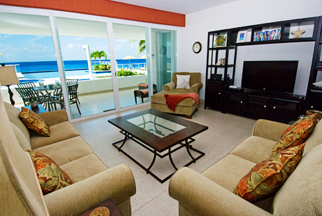 Nah Ha 201 is a 3 BR oceanfront vacation rental condo in Cozumel