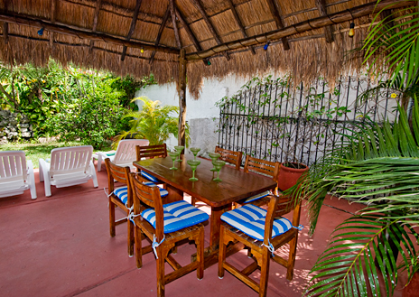 quetzal palapa Cozumel Mexico vacation rental