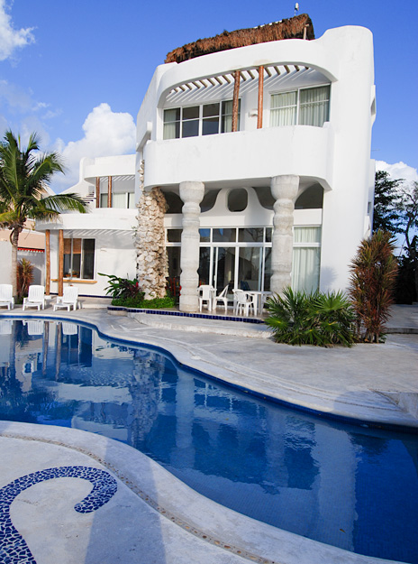 Cozumel Vacation Rental, Iguanas Ranas and Ranas Sur