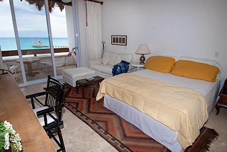 Bedroom #3 at RR 5320 at Residencias Reef Cozumel