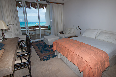 Bedroom #2 at RR 5320 at Residencias Reef Cozumel