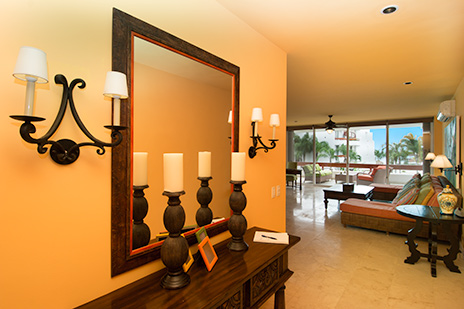 Foyer of Residencias Reef 6200