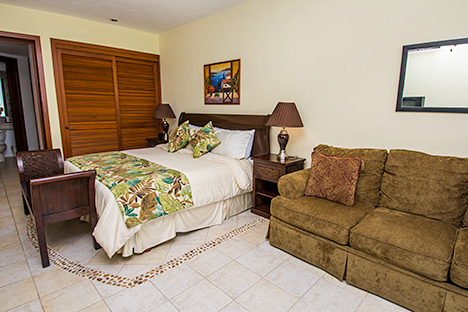Bedroom RR7130 Cozumel rental condo