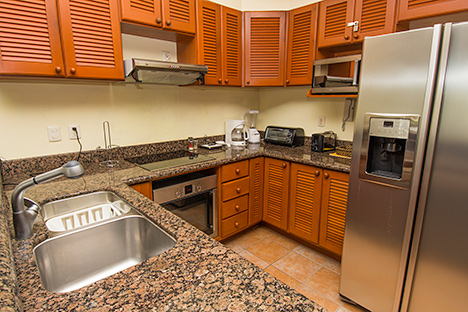 Kitchen RR7130 Cozumel rental condo