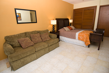 Bedroom has a sleep sofa  in RR 7160 at Residencias Reef vacation rental condo
