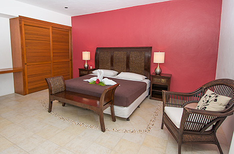 Bedroom #3 of Residencias Reef 7200 4 BR Cozumel vacation rental condo