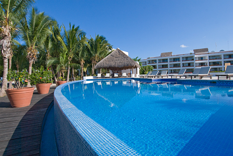 Residencias Reef Pool, Cozumel, Mexico