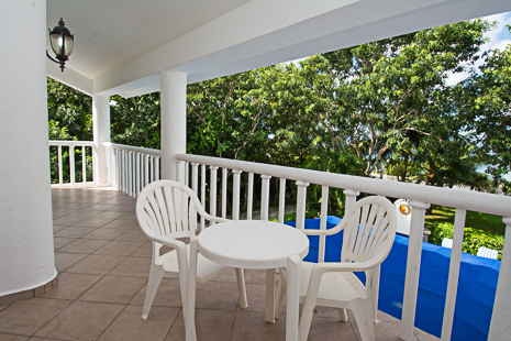 2nd floor balcony at Villa Torres