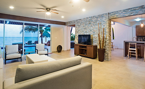 Villa del Sol Living room view